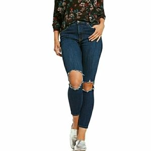 🆕️Free People Busted Knee Cropped Skinny Jeans